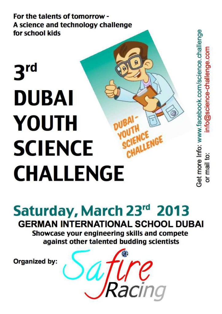 DYSC 2013 Flyer