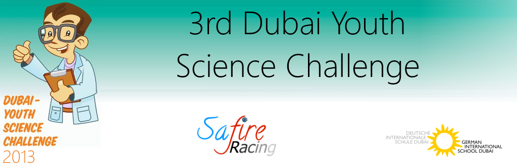 3rd Dubai Youth Science Challenge