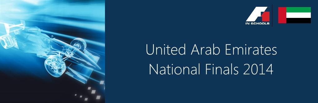 F1 in Schools UAE Nationals 2014