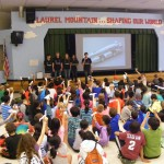 Safire Blue Bullets Racing at the Laurel Mountain Elementary School