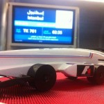 The SR05 in the aeroplane